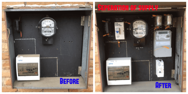 Electrical Meter Installation Sydney Separation Of Supply