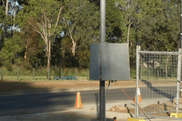 Temporary Builders Supply Power Pole Installation Sydney