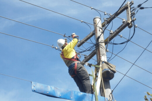 Overhead Service by our Level 2 Electrician